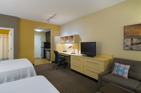 TownePlace Suites Harrisburg Hershey - Studio  Two Queens   Sofabed