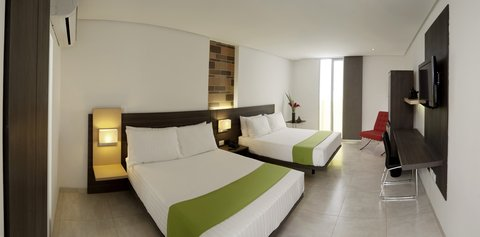 Hotel Casa Blanca - Junior Suite with two double beds