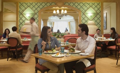 InterContinental CITYSTARS CAIRO - Esplanade Cafe Restaurant  open 24 hours