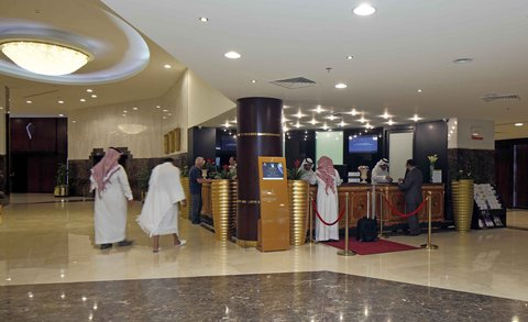 InterContinental TAIF - Reception