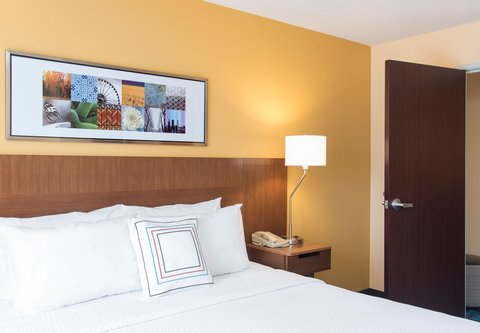 Fairfield Inn And Suites St Charles Hotel - One-Bedroom Suite
