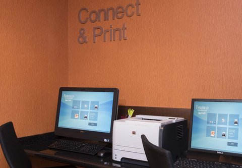 Fairfield Inn And Suites St Charles Hotel - Business Center