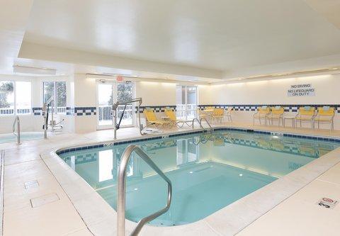 Fairfield Inn And Suites St Charles Hotel - Indoor Pool   Whirlpool