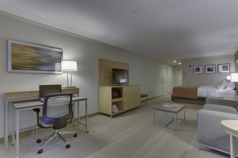 Holiday Inn SPOKANE AIRPORT - All Rooms Feature  Work Desk with Ergo Chair   LCD TV with HD