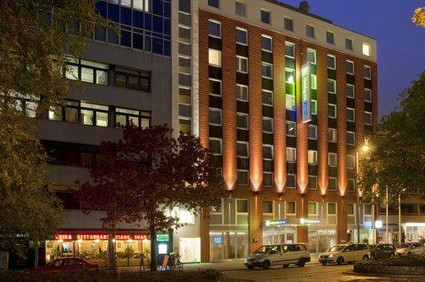 西柏林市中心快捷假日酒店 - Holiday Inn Express Berlin City Centre West Exterior Hotel View