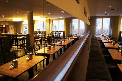 西柏林市中心快捷假日酒店 - Our Breakfast Restaurant
