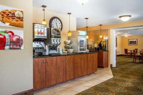 Quality Inn & Suites Evergreen Hotel - Breakfast