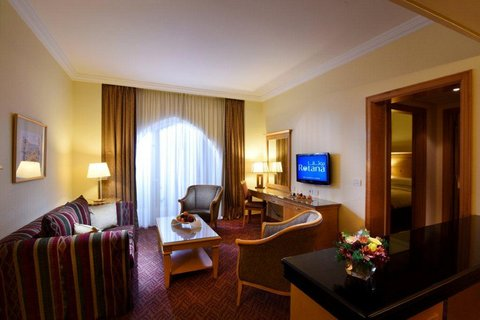 Gefinor Rotana Hotel - Two Bedroom Suite Sitting Area