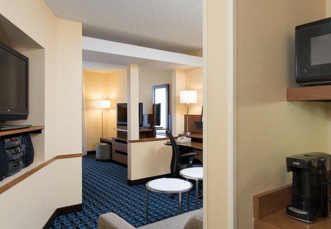 Fairfield Inn And Suites St Charles Hotel - Studio Suite