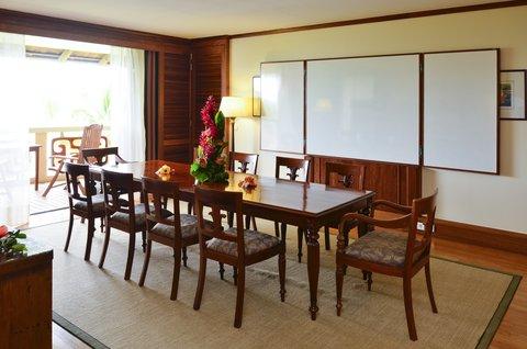 Intercontinental Resort Tahiti - Antares Suite Boardroom