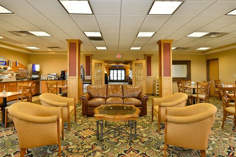 Holiday Inn Express Rochelle - Breakfast Area