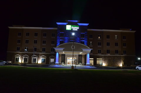 Holiday Inn Express & Suites ALBANY - Night Photo