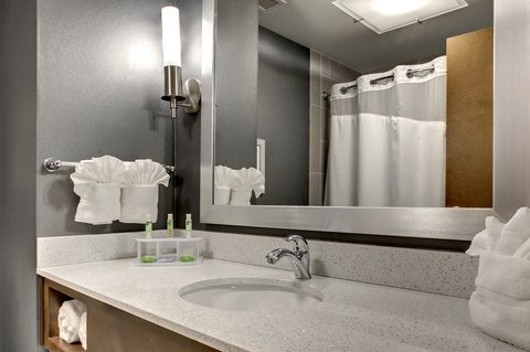 Holiday Inn Express & Suites ALBANY - Guest Bathroom