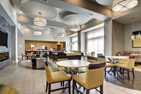 Holiday Inn Express & Suites ALBANY - Lobby Lounge