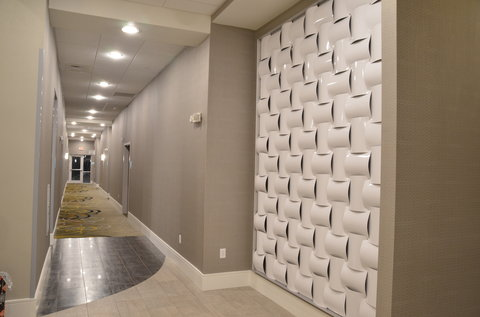 Holiday Inn Express & Suites ALBANY - 1st Floor Hallway