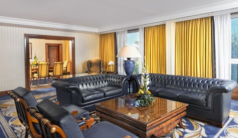 InterContinental BERLIN - Presidential Suite InterContinental Berlin living room
