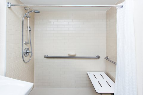 Candlewood Suites ALBUQUERQUE - ADA Restroom with Roll in Shower