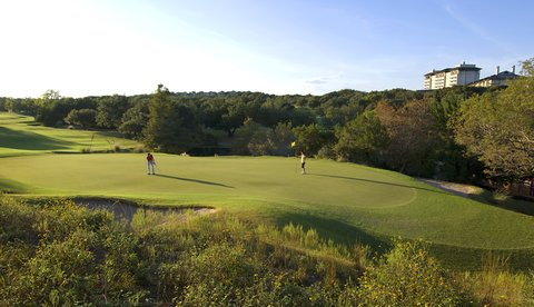 Omni Barton Creek Resort & Spa - Golfers on Fazio Foothills Course