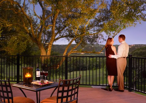Omni Barton Creek Resort & Spa - Couple on the Veranda