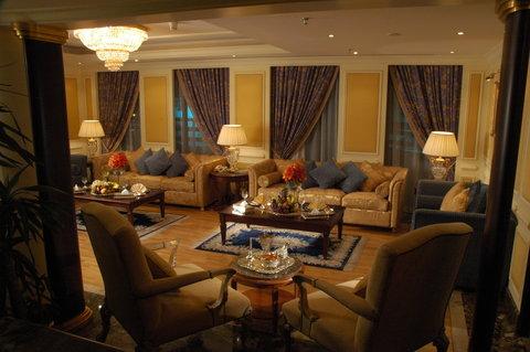 吉达洲际酒店 - Penthouse living room VIP Suite