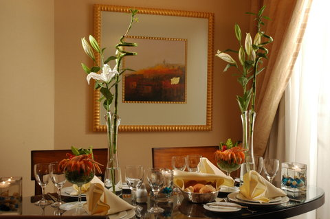 吉达洲际酒店 - Diplomatic Suite private dining