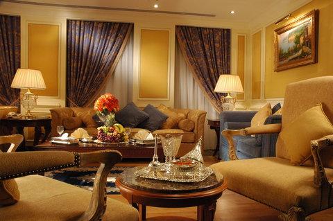 吉达洲际酒店 - Penthouse VIP Suite living room