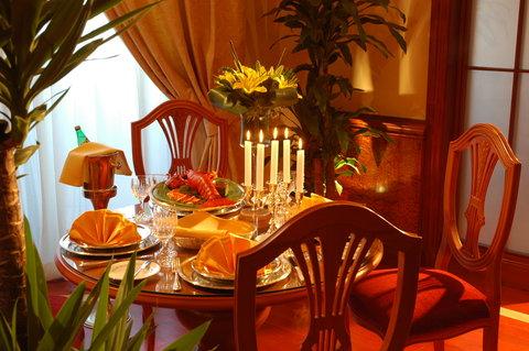 吉达洲际酒店 - Royal Suite private dining