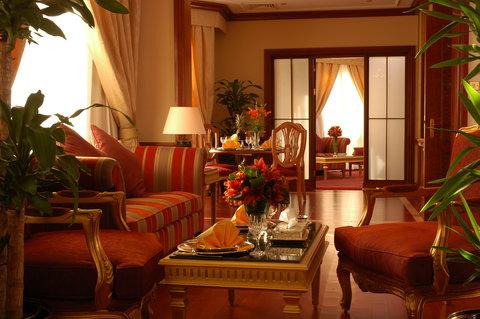 吉达洲际酒店 - Royal Suite living room