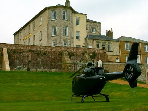 The Talbot Hotel - Helicopter