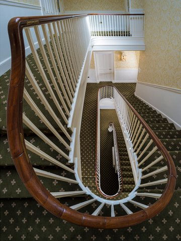 The Talbot Hotel - Staircase