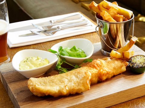 The Talbot Hotel - Brasserie Fish Chips