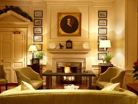 The Talbot Hotel - Fireplace