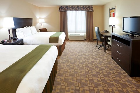 Holiday Inn Express & Suites EASTLAND - Queen Bed Guest Room