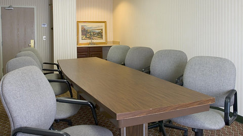 Holiday Inn Express Hotel & Suites Columbus Expo Center - Get business done  in our boardroom