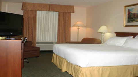 Holiday Inn Express Hotel & Suites Columbus Expo Center - Great for longer stays  with a wet bar  microwave and refrigerator