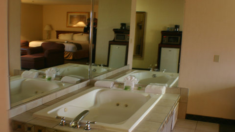 Holiday Inn Express Hotel & Suites Columbus Expo Center - Get away from it all in a jacuzzi tub