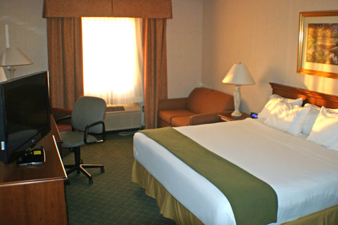 Holiday Inn Express Hotel & Suites Columbus Expo Center - Our king room with sleeper sofa is a great place to relax