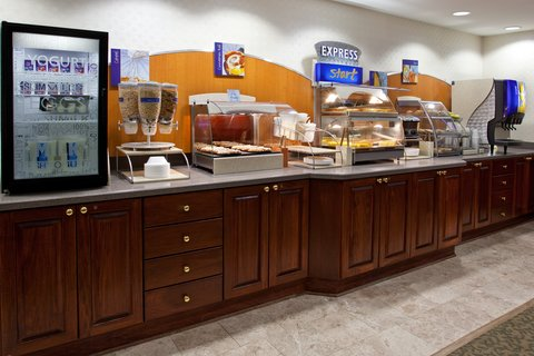 Holiday Inn Express Hotel & Suites Columbus Expo Center - Our complimentary Smart Start Breakfast starts off the day
