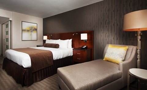 Marriott Charlotte Executive Park Hotel - King Bed Guest Room
