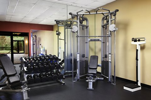 Marriott Charlotte Executive Park Hotel - Fitness Center Weight Room