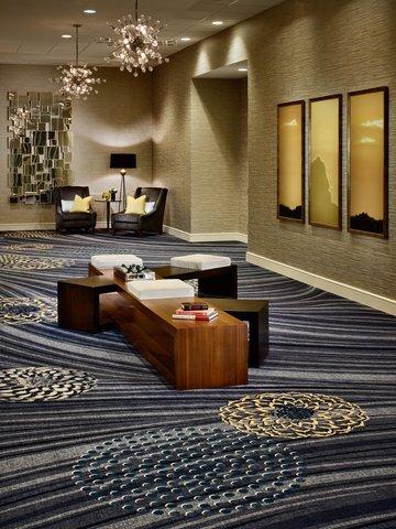 Marriott Charlotte Executive Park Hotel - Carolina Ballroom Reception Area