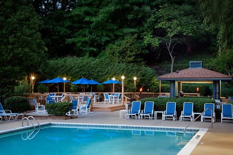 Marriott Charlotte Executive Park Hotel - Swimming Pool