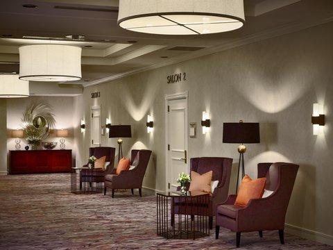 Marriott Charlotte Executive Park Hotel - Pre-function Area