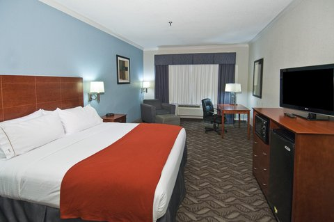 Holiday Inn Express Hotel & Suites Lake Charles - King Bed Guest Room