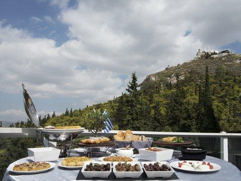 St George Lycabettus Hotel - Greek Breakfast