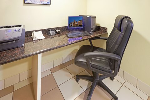 Holiday Inn Express Hotel & Suites Brownwood - Business Center- Work in comfort in our convenient business center