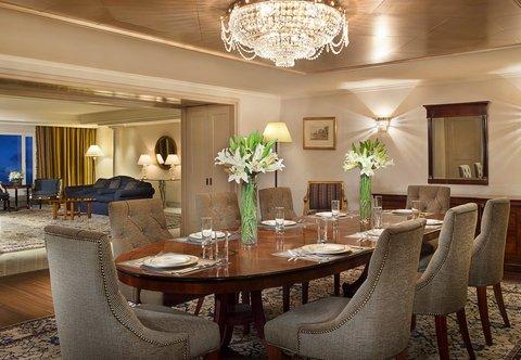 فندق ماريوت جي دبليو دبي - Royal Suite Living Room