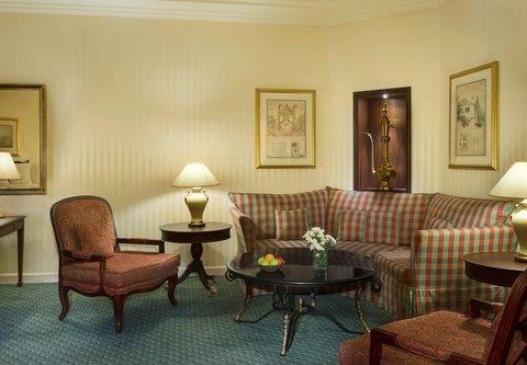 فندق ماريوت جي دبليو دبي - Junior Suite Sitting Area