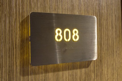 The Parc Hotel - Door Number Details