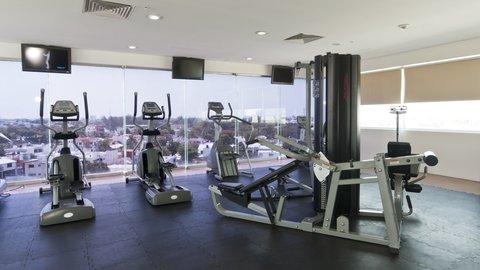 Holiday Inn Express CD. DEL CARMEN - Fitness Center